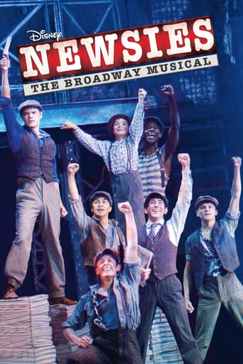 Disney's Newsies: The Broadway Musical backdrop